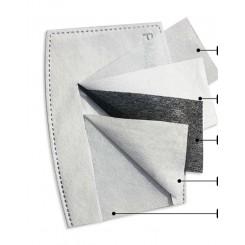 Filtre til indlæg i silke mundbind - Refill
