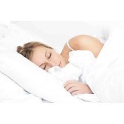 Egyptisk bomuld - sengesæt- 1000 TC - hvid uden mønster