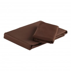 Egyptisk bomuld - sengesæt - 1000 TC - mokka