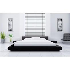 Egyptisk bomuld - sengesæt - 1500 TC - hvid med striber